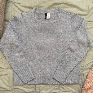 *SALE 3/ $35* H&M Knitted Semi-Cropped Sweater